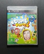 Start The Party *Brand New Sealed (Sony PlayStation 3, 2010) PS3 Game -FREE POST