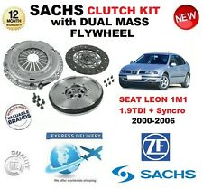 FOR SEAT LEON 1M1 1.9 TDi + Syncro CLUTCH KIT 2000-2006 with FLYWHEEL & BOLTS