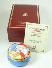 Staffordshire Enamel Box - 2004 Christmas Box