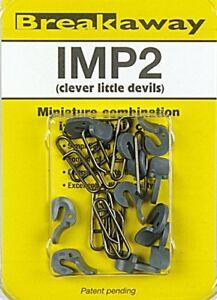 1 x PACK OF 10  BREAKAWAY TACKLE IMPS   ( IMP2 )