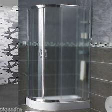 Box doccia 70x90 semicircolare scorrevole angolare tondo in cristallo 6 mm opaco