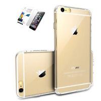 Funda Carcasa iPhone 6/6S/7/8/PLUS Transparente TPU / Protector Cristal templado