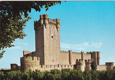 The Mota Castle Medina Del Campo Spain Postcard Unused VGC