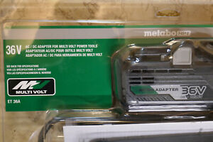 Metabo ET 36A, 36Volt MultiVolt AC Adapter Corded Power Source for Battery Tools