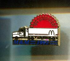 RARE PINS PIN'S .. MC DONALD'S RESTAURANT CAMION TRUCK 15 ANS M&M 1992 USA ~16