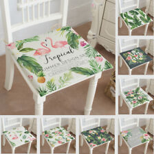 Vintage Country Floral Chair Cushion SEAT PADS Tie On Garden Dining Kitchen ZD34