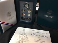 1995 Civil War Prestige Proof Coin Set United States Mint