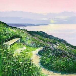 Heather Howe - Sunset Seat (Framed) - In Stock
