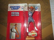NBA HOUSTON ROCKETS CHARLES BARKLEY STARTING LINEUP FIGURE & CARD 1996 NEW