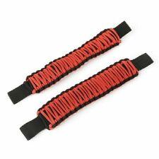 Rugged Ridge 13305.81 Set of Red Seat Mount Rear Grab Handles for Wrangler JK/JL