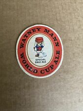 Watneys 1966 World Cup Beer Mat. Rare World Cup Ale Watney Mann.