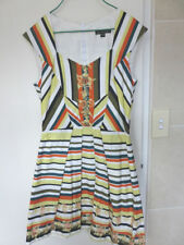 Cue Dry-clean Only Striped Dresses for Women