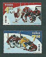 Norway - Mail 1999 Yvert 1267/8 MNH Sports