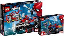 LEGO Super Heroes 76133 76113 Spider Man Motorradrettung N12/18 NEU
