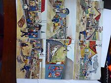 Postkartensatz Auf der schwäbschen Eisenbahne  6er Pack 4