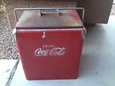 Vintage Coca-Cola Ice Chest/Cooler