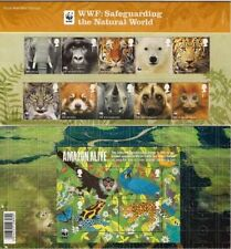 GB Presentation Pack 454 2011 WWF WORLD WILDLIFE FUND INC M/S