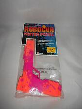 ROBOGUN WATER PISTOL SQUIRT GUN 1991 ROBOCOP NEVER OPENED COSTUME ORANGE/PINK