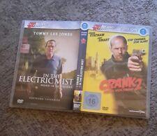"DVD "" Crank 2"" ""In the Electric Mist"" Jason Statham, Tommy Lee Jones, Amy Smart"