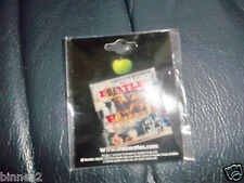 THE BEATLES ANTHOLOGY 2  ALBUM SLEEVE SQUARE METAL BROOCH-BADGE-PIN BRAND NEW