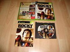 ROCKY LEGEND DE UBISOFT VIDEOJUEGO DE BOXEO PARA LA PRIMERA XBOX USADO COMPLETO