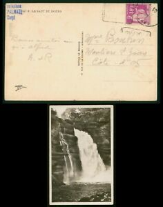 Mayfairstamps France PC 1939 Le Saut Du Doubs Waterfall Real Photo Postcard wwp8