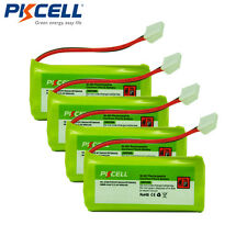 PKCELL 4 xCordless Phone Battery For AT&T BT18433 BT28433 BT184342 Vtech BT28434