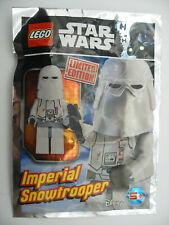 Lego STAR WARS 911726 Polybag Fuel Mini Figure SNOWTROOPER LIMITED EDITION Neuf