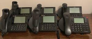 Lot of 6 4xShoreTel 1xMitel IP Phones IP480 And ShoreTel 230 Business VOIP Phone