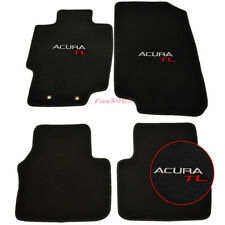 Fits 04-08 Acura TL 4Dr Nylon Floor Mats Carpets Front & Rear