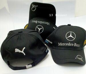 Mercedes AMG F1 Lewis Hamilton Driver Cap Baseball Cap Black ADULT One Size