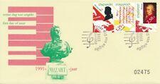 Erinnofilie: FDC Mozart (1991) - Blanco / Open klep