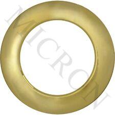 "Micron Spray Gold Plastic #10 (1 3/8"") Heavy Duty Plastic Grommet (10 pce/bag)"