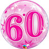Age 60 - Happy 60th Birthday Qualatex Balloons {Helium Party Balloons Boy/Girl}