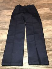 New Boys Sz 14 French Toast Blue Pants Casual School Adjustable Waist