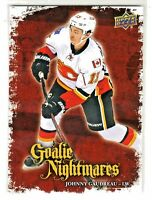 2016-17 Upper Deck GOALIE NIGHTMARES #GN-5 JOHNNY GAUDREAU Calgary Flames