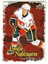 2016-17 Upper Deck GOALIE NIGHTMARES #GN-5 JOHNNY GAUDREAU Calgary Flames