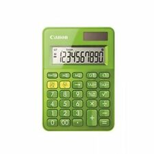 Canon LS-100K Dual Power (10 Digit) mini-mini Desktop Calculator (Green)