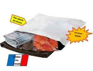 100 Enveloppes plastique opaque-260x350mm-pochettes emballage-expedition postale