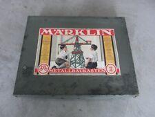 Alter Metallbaukasten von Märklin Nr. 3, 1930/40er Jahre