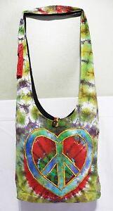 new Hippie made in nepali Handmade rasta Shoulder Bag Jack Skellington one love