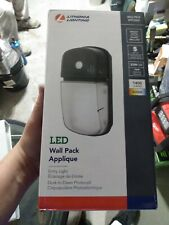New listing Lithonia Lighting Outdoor Led 4000k 1,414 Lumens Wall Pack, Energy Efficient Led