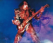 Gene Simmons autographed 8x10 #2 Free Shipping  Kiss