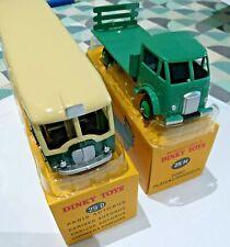 dinky toys atlas - lot autobus 29D et ford plateau brasseur 25 H