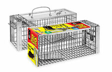 Big Cheese Rat Cage Trap Wire Cage STV075 Humane Safe Mouse Squirrel