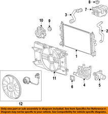 Chevrolet GM OEM 12-15 Cruze-Radiator Cooling Fan Blade 13427160