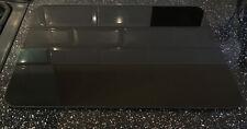 NUOVA grande pianura nero liscio in vetro di tritare tagliere cucina piano di lavoro Saver