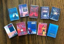 Dollhouse Miniatures! Set #5 of 10 Stephen King Books! Readable!