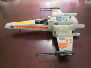 Vintage Loose ROTJ X-Wing with Battle Damage