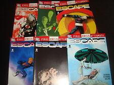 FINAL CRISIS AFTERMATH : ESCAPE  #1,2,3,4,5,6 Complete Set DC Comics 2009 NM